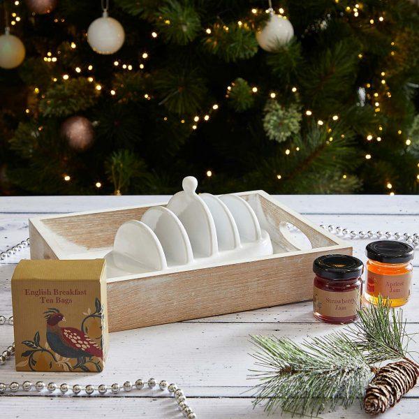 Breakfast Tea with Toast Rack Gift Set