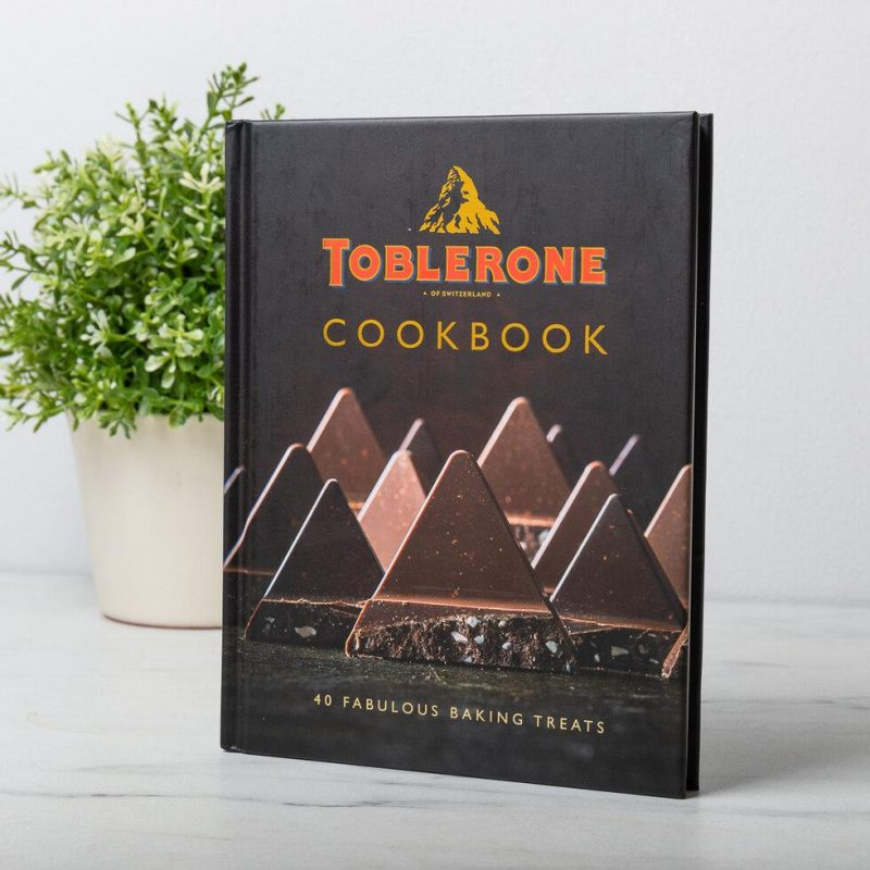 Toblerone cook book chocolate gift ideas