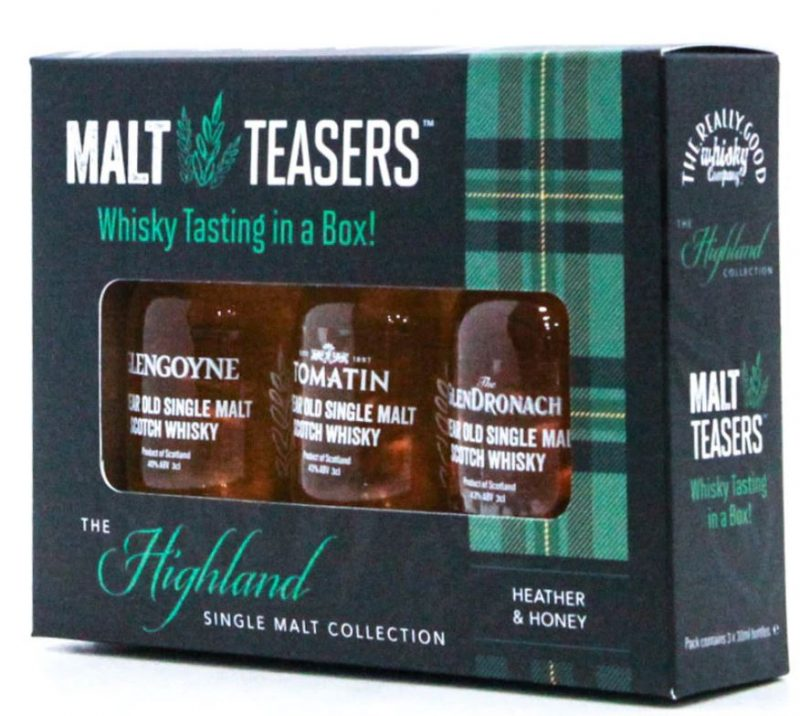 Whisky tasting in a box