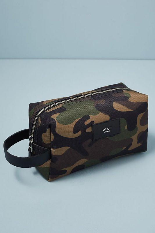 Camouflage wash bag