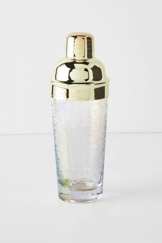 Zaza gold cocktail shaker