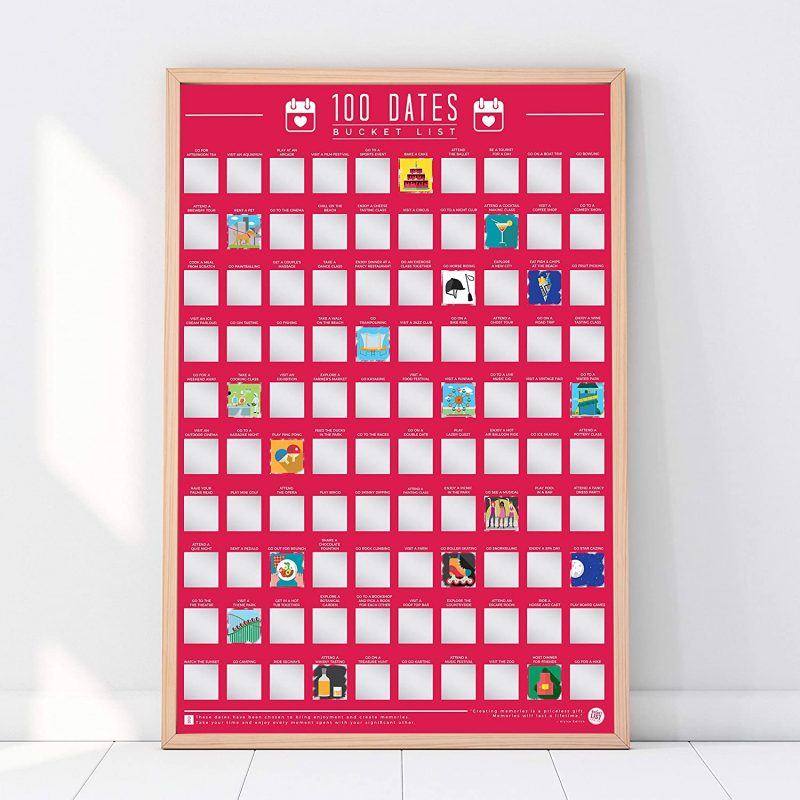 Dates Poster Cheap Valentine's day Gift Idea