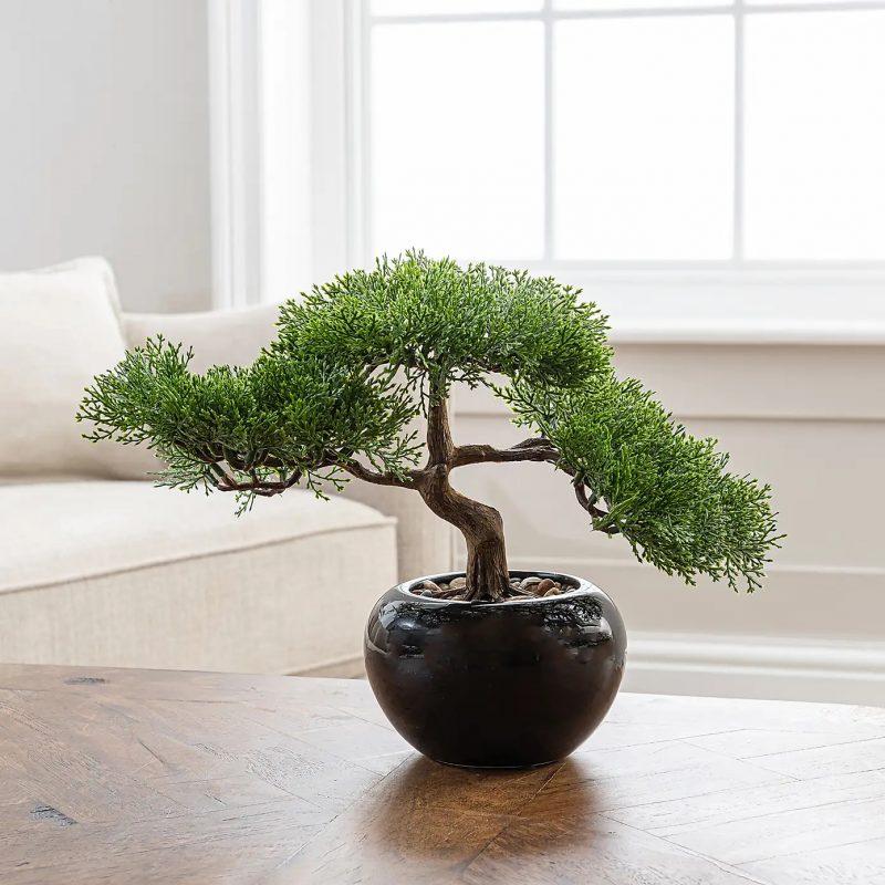 Artificial Bonsai Tree faux Plant Gift Idea