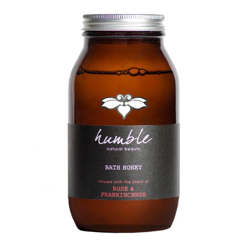 Humble Rose & Frankincense Bath Honey