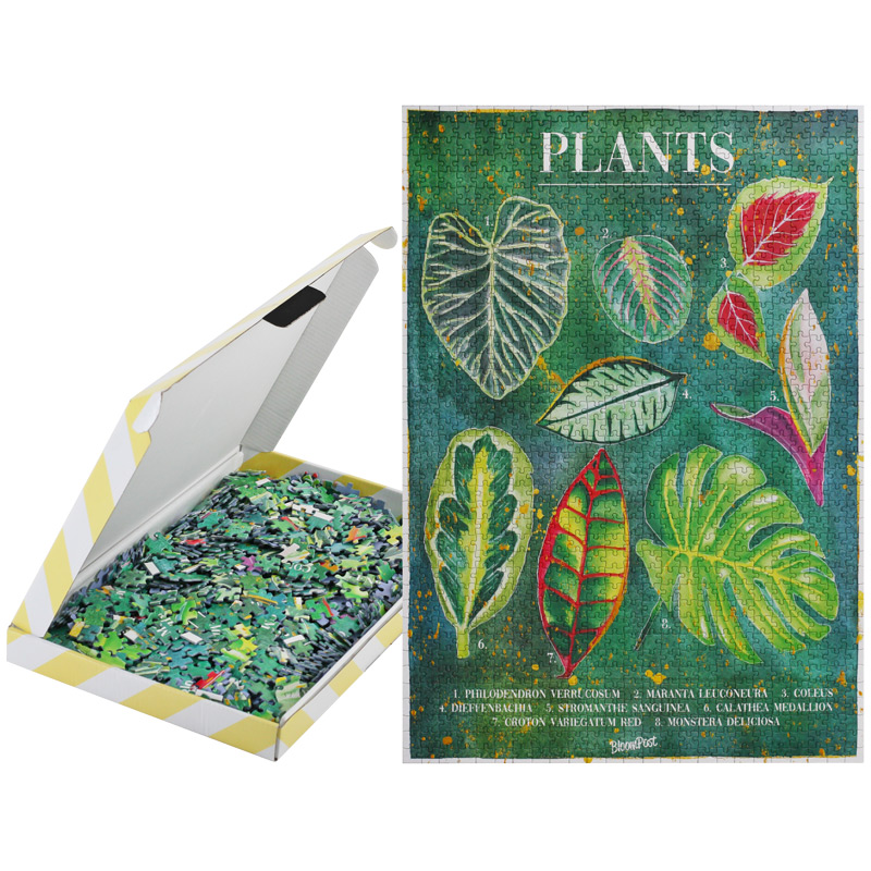Plant Puzzle Letterbox sustainable Gift idea