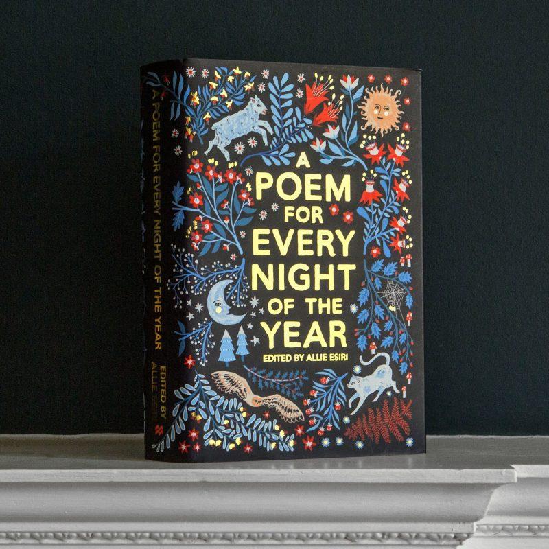 Poetry book luxury gift