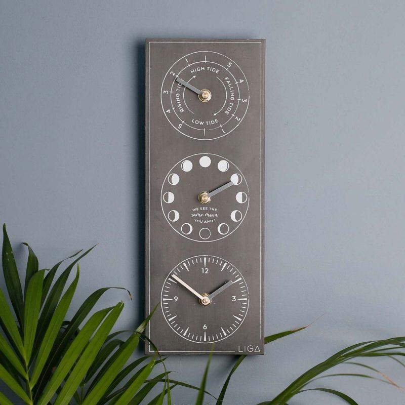 Tide, Time & Moon Clock – Graham & Green