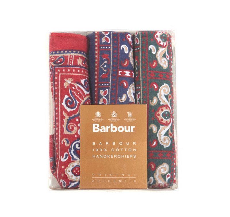 Barbour paisley handkerchiefs