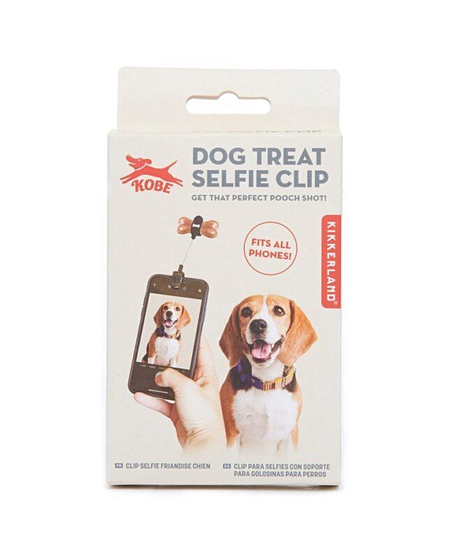 Dog treat selfie kit