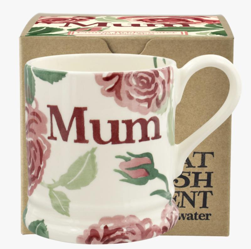 Pink roses Mum Emma Bridgewater mug