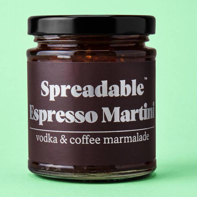 Spreadable espresso martini unusual cocktail gift ideas