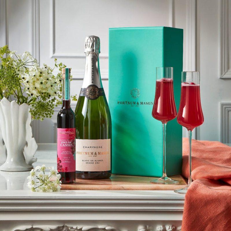 Kir royale gift set cocktail gift ideas