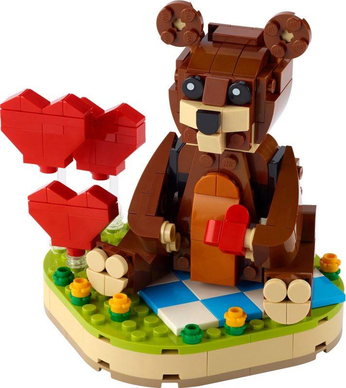 Lego bear cute Valentine's present
