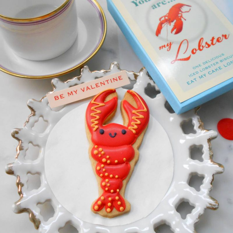 Lobster Biscuit Cheap Valentine's day Gift Idea