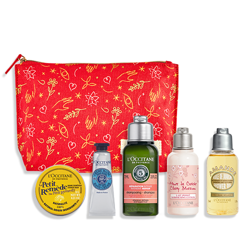 cosmetic gift set from L'Occitane