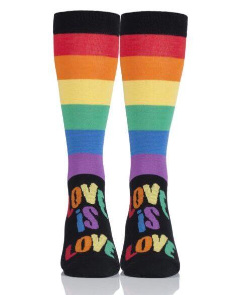 Love is Love Socks Cheap Valentine's Day Gift Idea