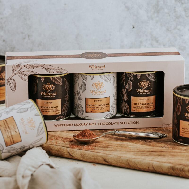 Luxury hot chocolate gift set