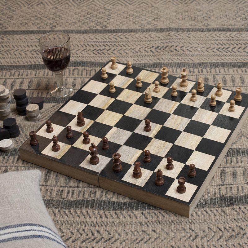 Chess & Draughts Gift Set