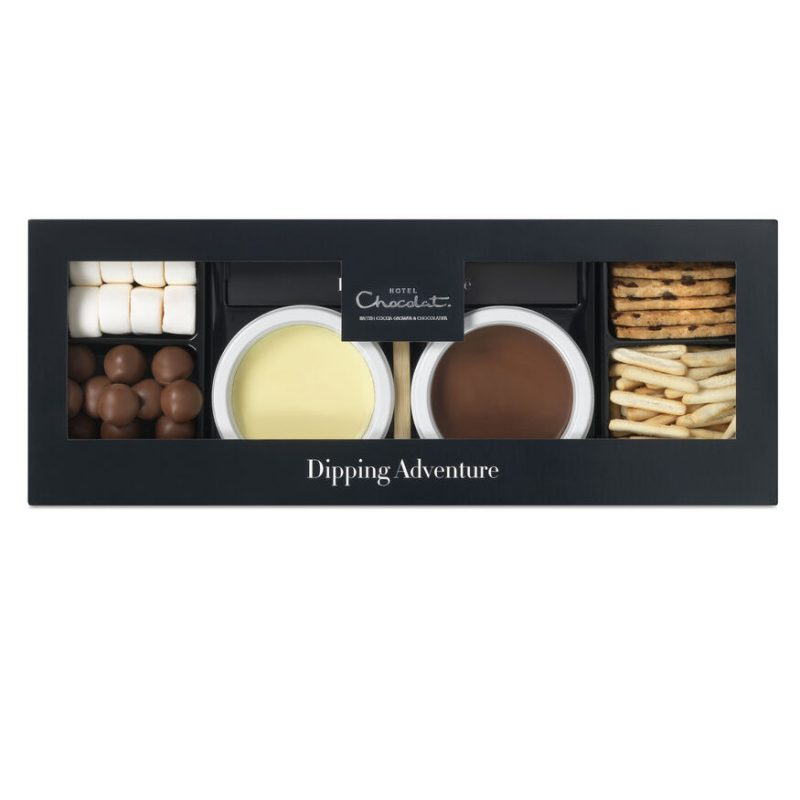 Mini chocolate dipping adventure for two