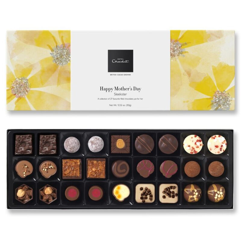 Mother's Day box of chocolates