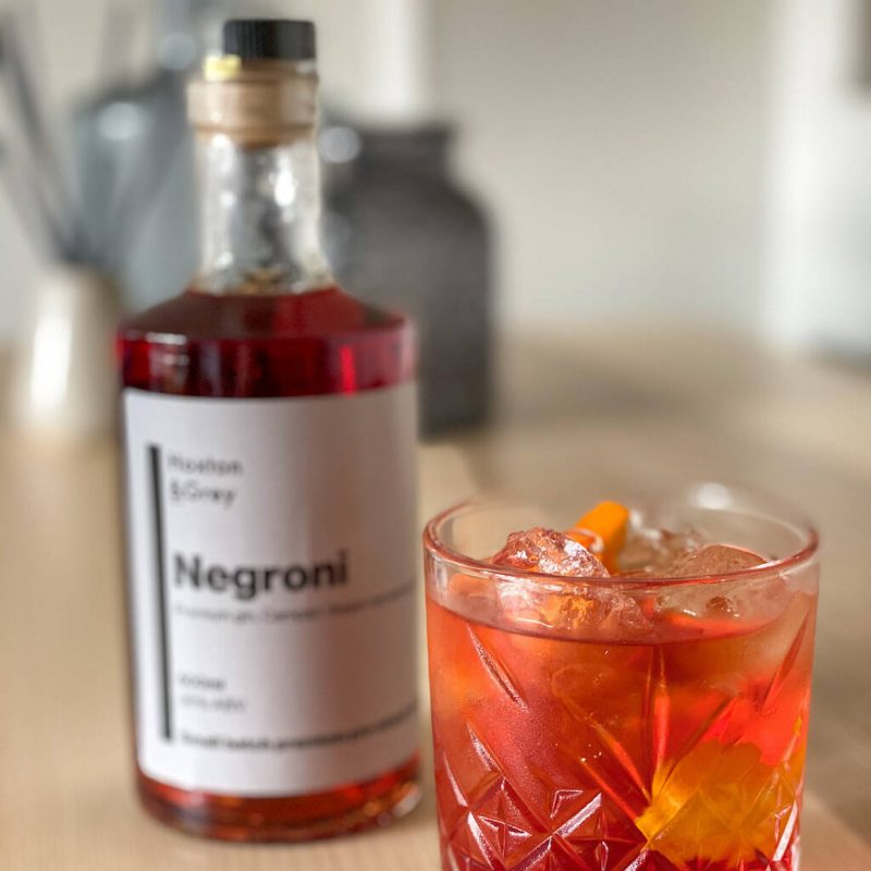 Negroni cocktail gift idea