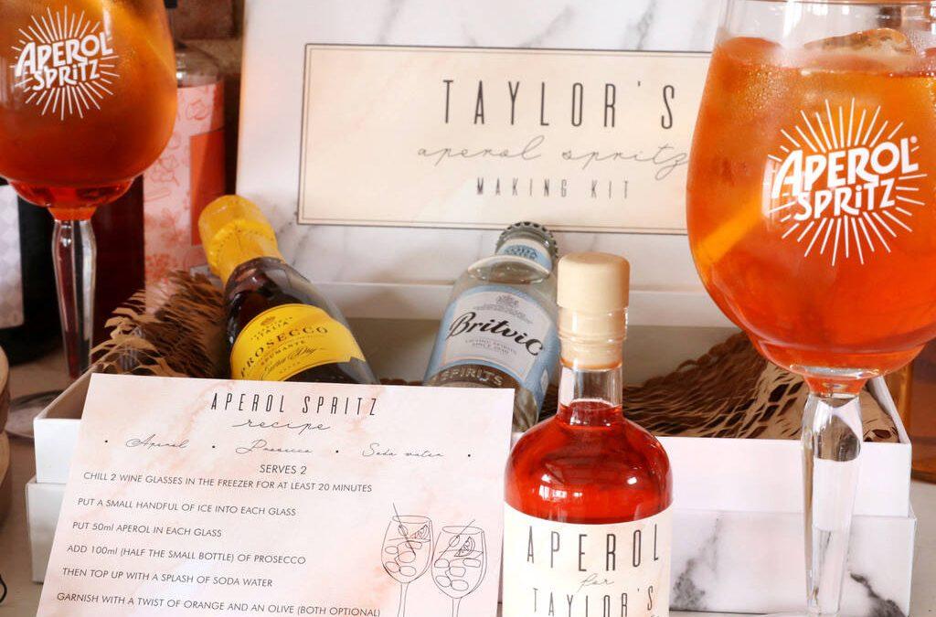 Aperol spritz cocktail gift ideas