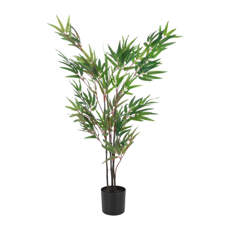 Faux Potted Bamboo Tree