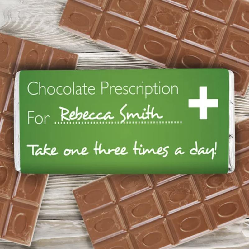 Prescription chocolate bar