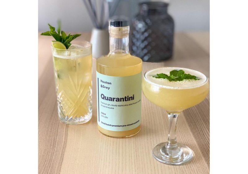 Premium Bottled Quarantini Cocktail