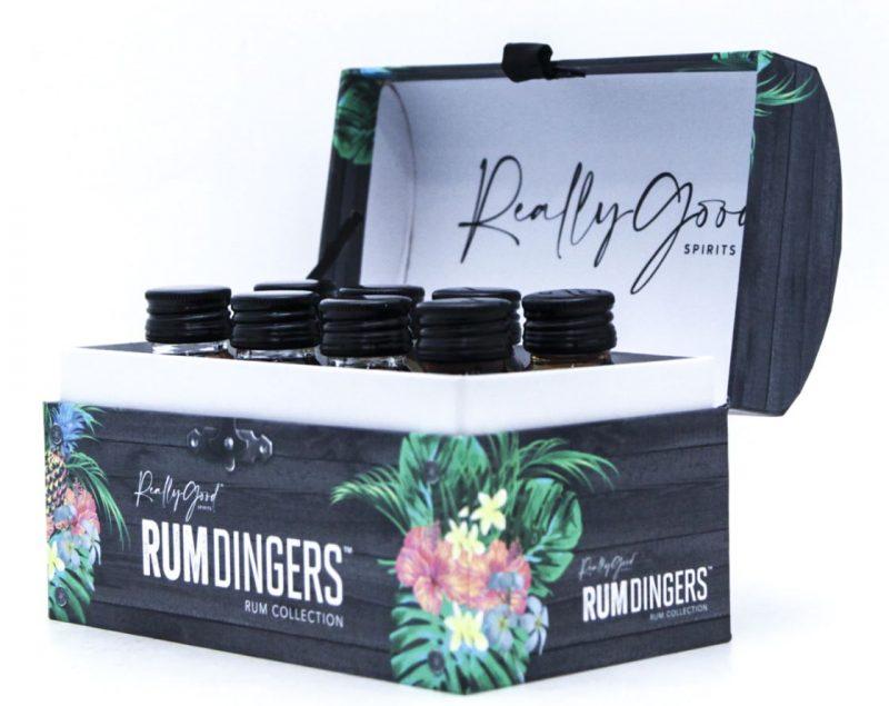 Rumdingers rum tasting kit