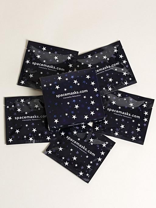 Pack of five self heating eye masks