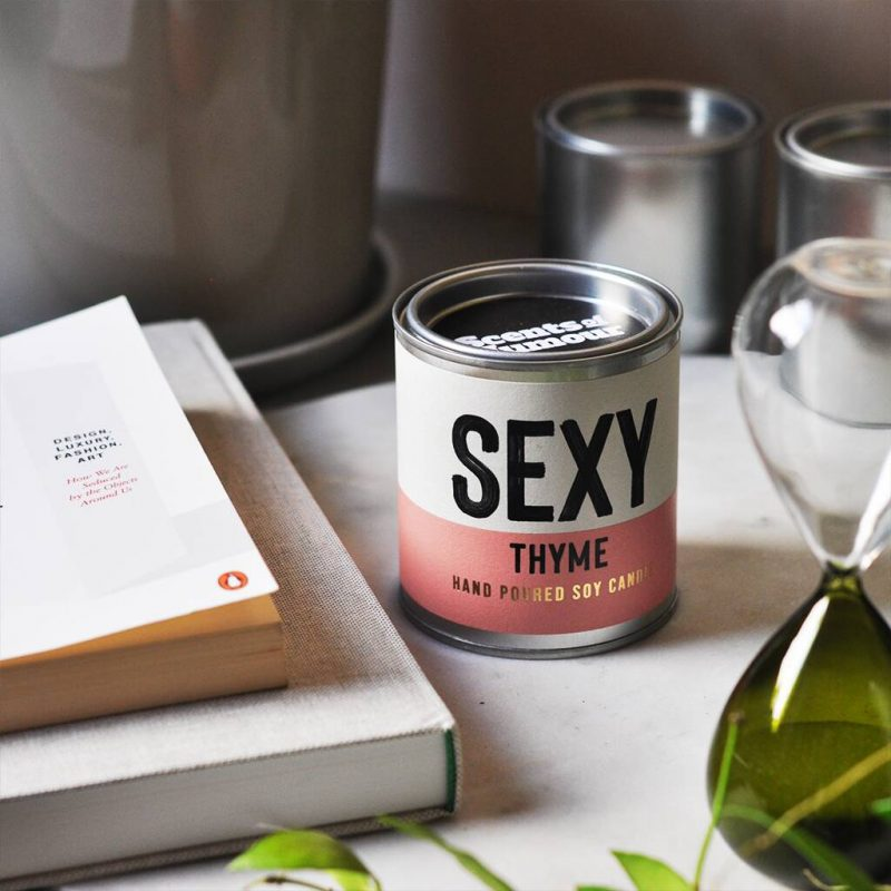 'Sexy Thyme' Thyme And Mulberry Scented Candle – Not On The High Street