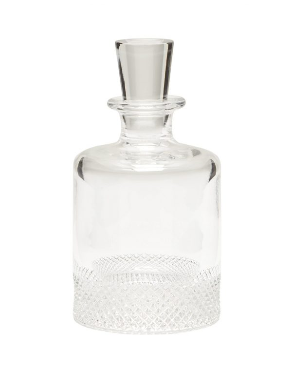 Small crystal decanter