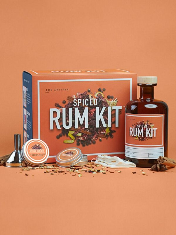 Spiced rum alcohol infusing kit