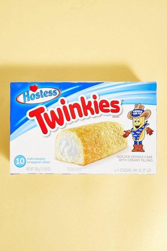 Pack of ten twinkies