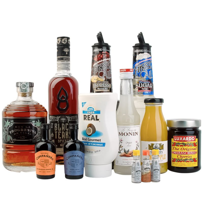 Ultimate cocktail gift set