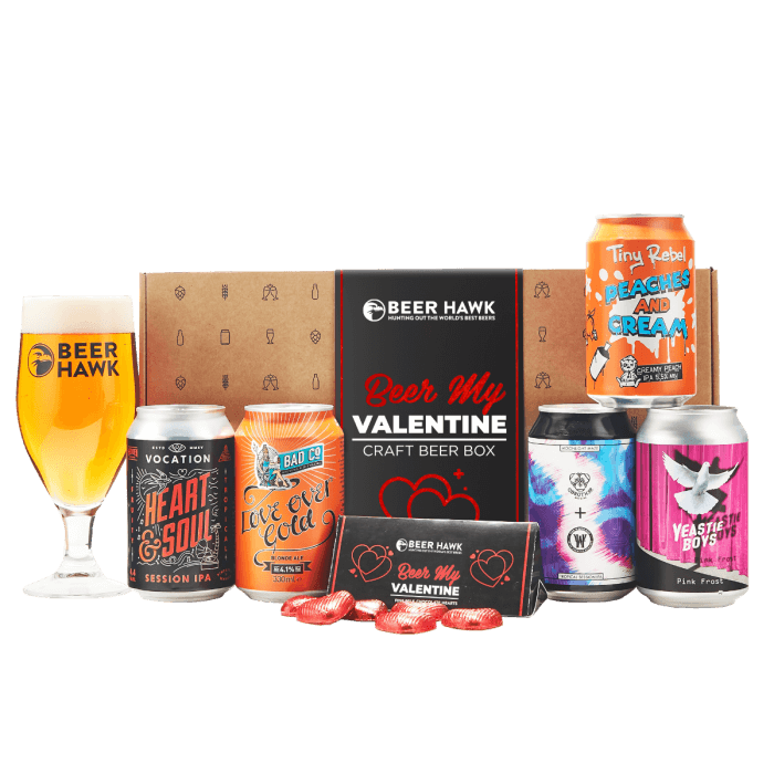 Beer my Valentine Selection box