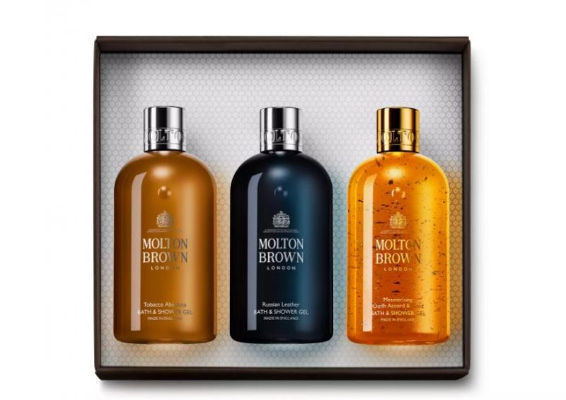 Molton Brown woody gift set for him