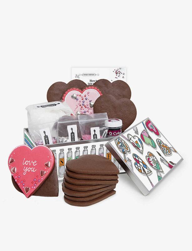 Biscuiteers Valentines DIY Tin Selfridges