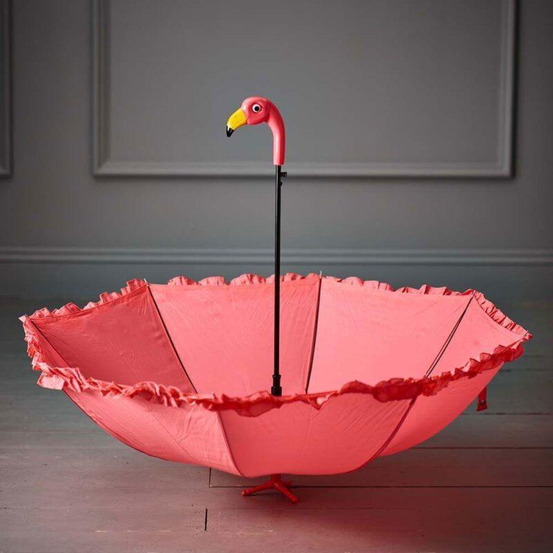 Cute Flamingo Umbrella Gift