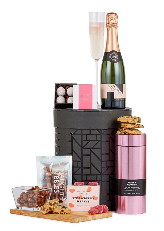 Luxury hat box with treats