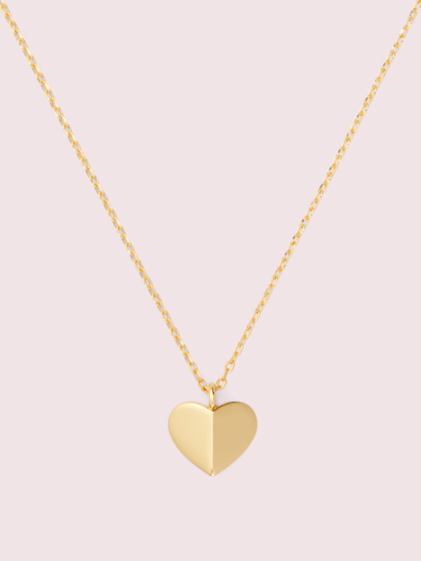 Heritage Spade Heart Mini Pendant