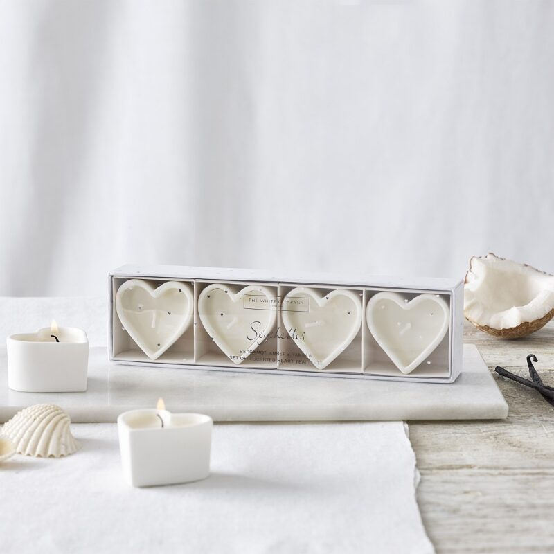 Seychelles Heart Tealights