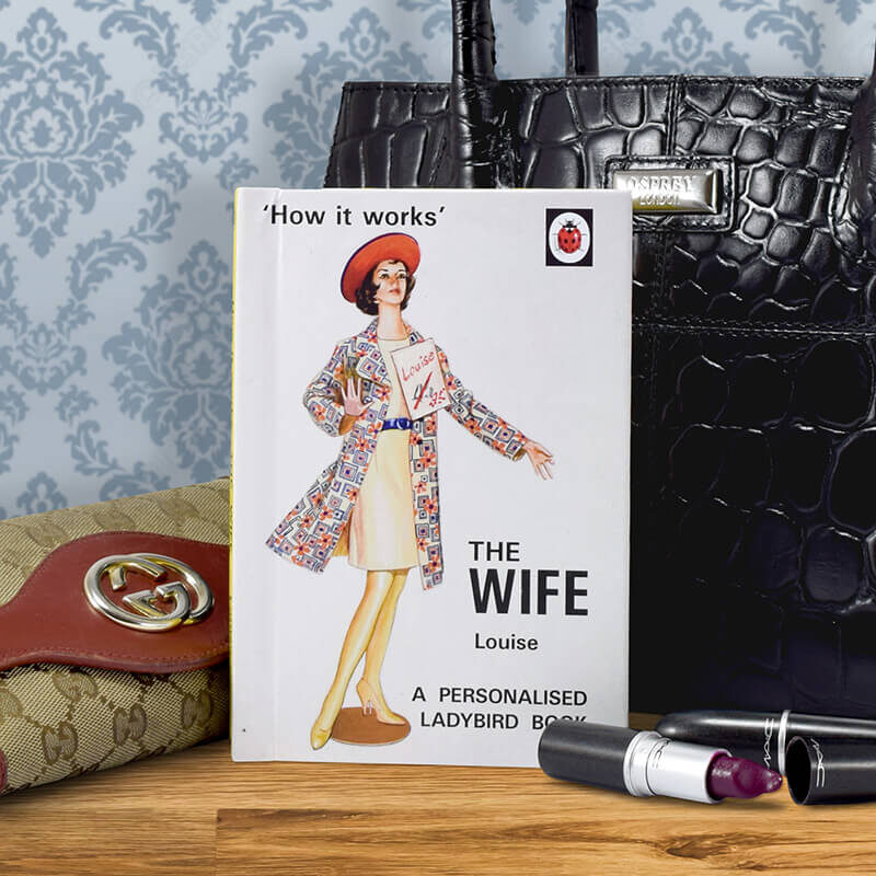 Valentine's day gift ideas for her book of the wife