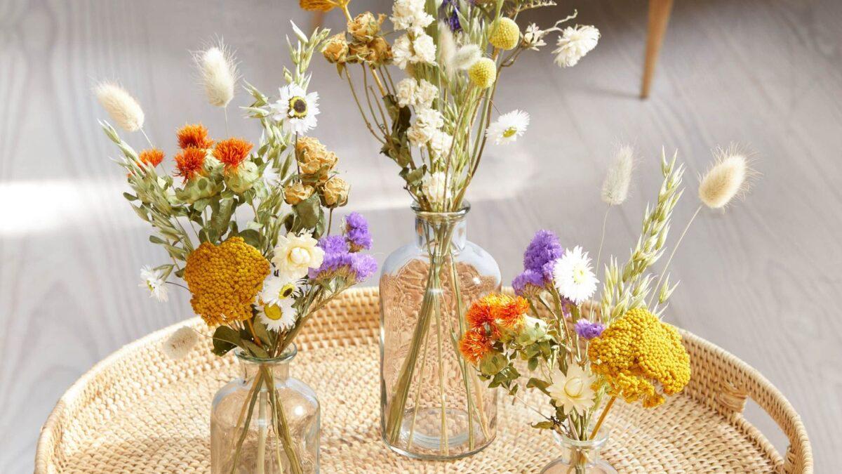 Dried Flower posey set