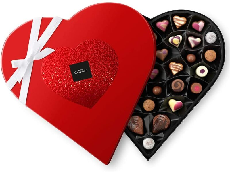 Straight From The Heart Chocolate Box