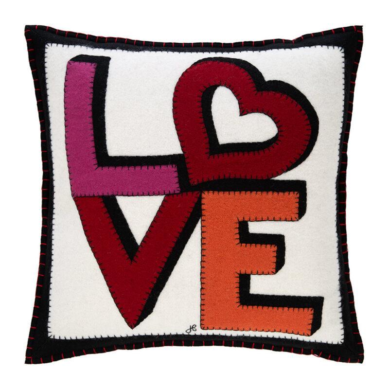 heart cushion amara