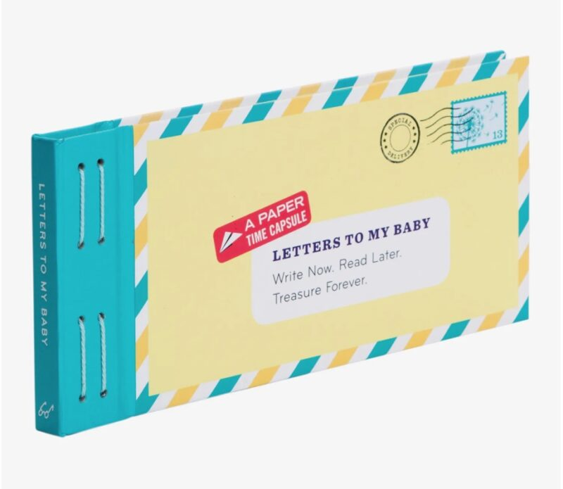 Letters to My Baby Writing Set