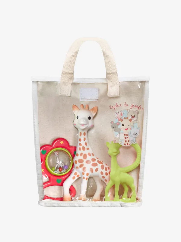 Sophie the giraffe gift bag