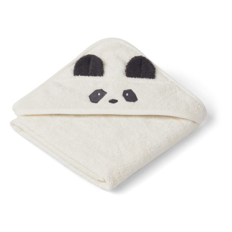 Albert Organic Cotton Towel Panda